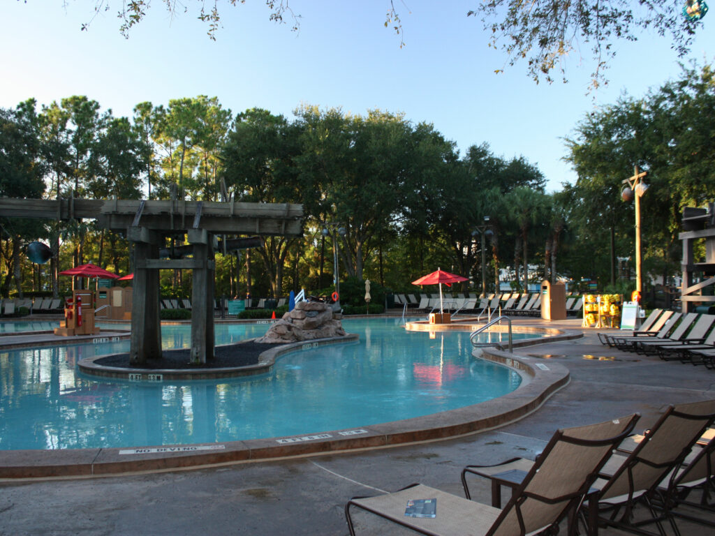 Disney Port Orleans Riverside Main Pool