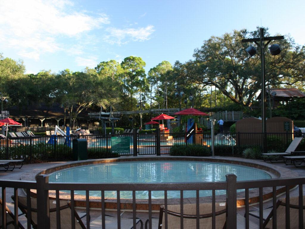 Disney Port Orleans Riverside Main Pool Wading