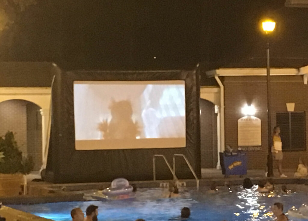 Disney Port Orleans Riverside Movies Under The Stars