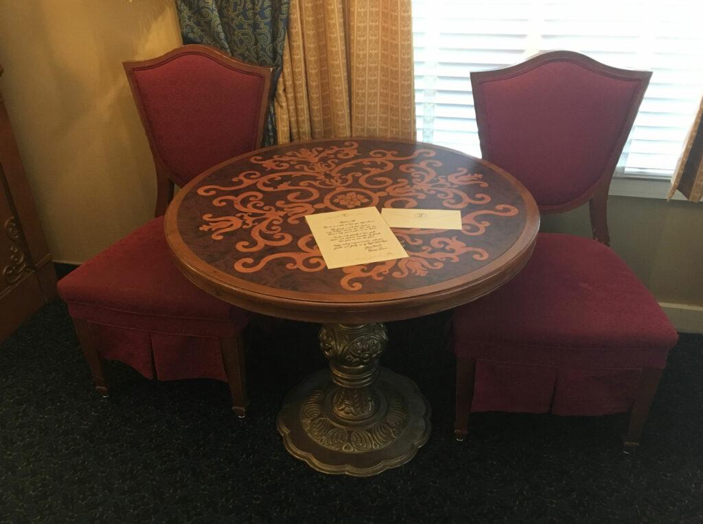 Disneys Port Orleans Riverside Resort Room Table Chairs