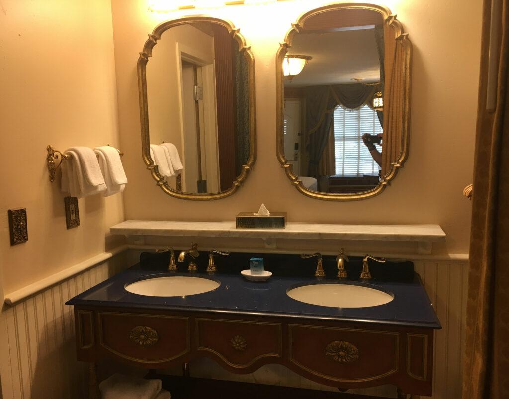Disney Port Orleans Riverside Room Two Sink Vanity