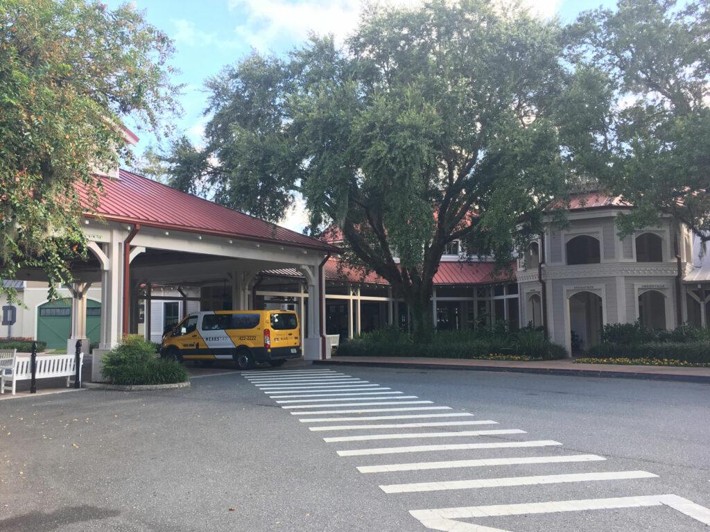 Disney Port Orleans Riverside Entrance