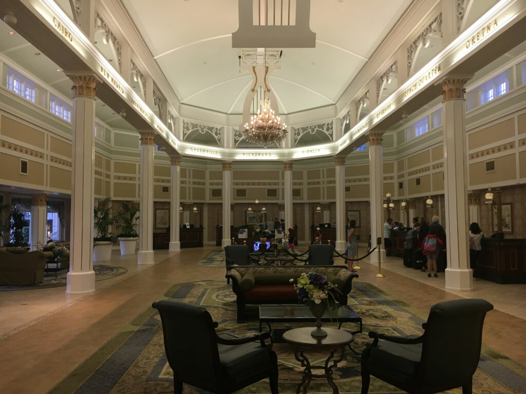 Disney Port Orleans Riverside Lobby