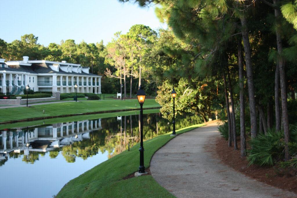 Disney Port Orleans Riverside Walking Path