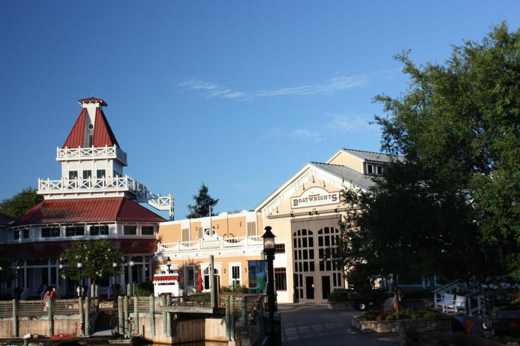 Disney Port Orleans Riverside Sassagoula Area