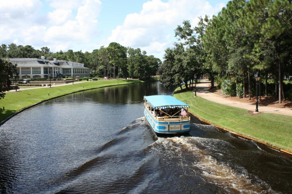 Disney Port Orleans Riverside Sassagoula River Boat