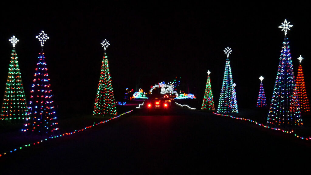 Newport News Park Celebration In Lights