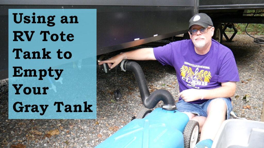 RV Tote Tank YouTube Video Thumbnail