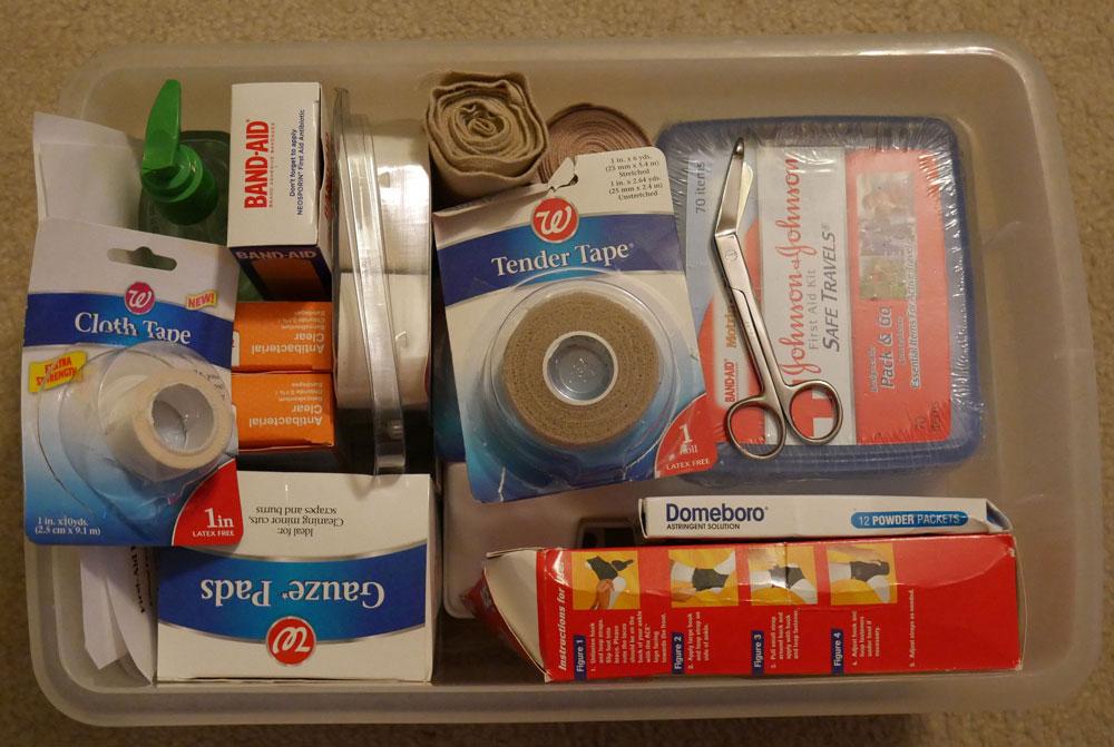 RV First Aid Kit
