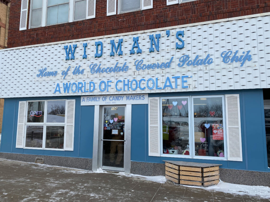Widman's Candy Shop Downtown Grand Forks North Dakota