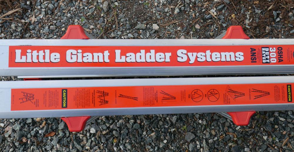 Little Giant Ladder Configuration Options Image