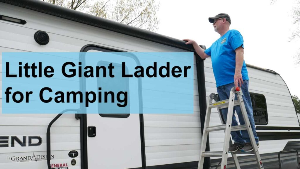 Little Giant Ladder for Camping YouTube Video Thumbnail