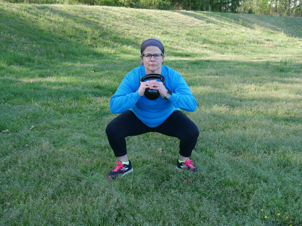 One Of My 5 Favorite Kettlebell Exercise Moves Goblet Squat