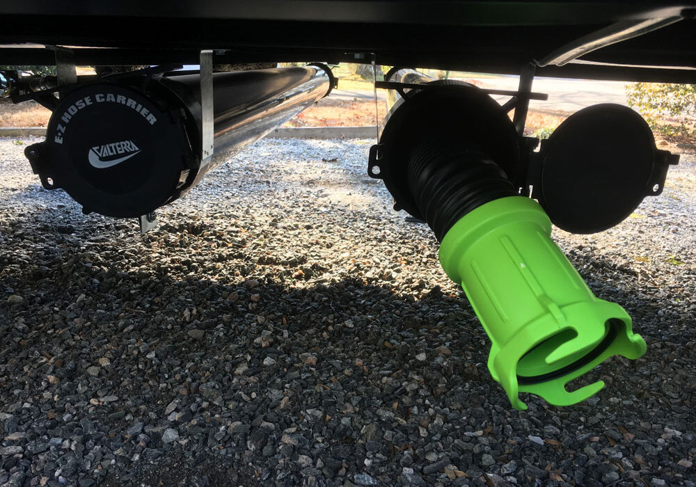 RV Sewer Hose Storage Carrier Project