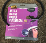Use Weatherseal to Line the Pipe Hangers for Mounting RV Sewer Hose Storage Tubes