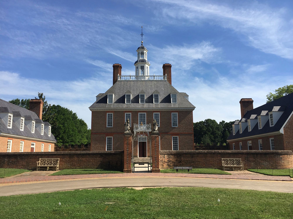 Governor's Palace Colonial Williamsburg VA
