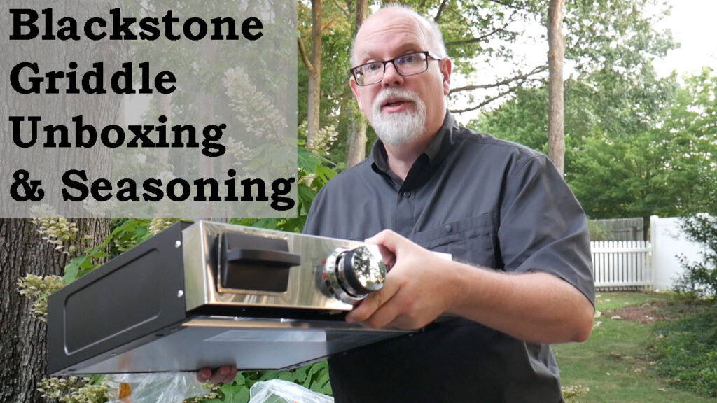 Blackstone Unboxing Video on YouTube