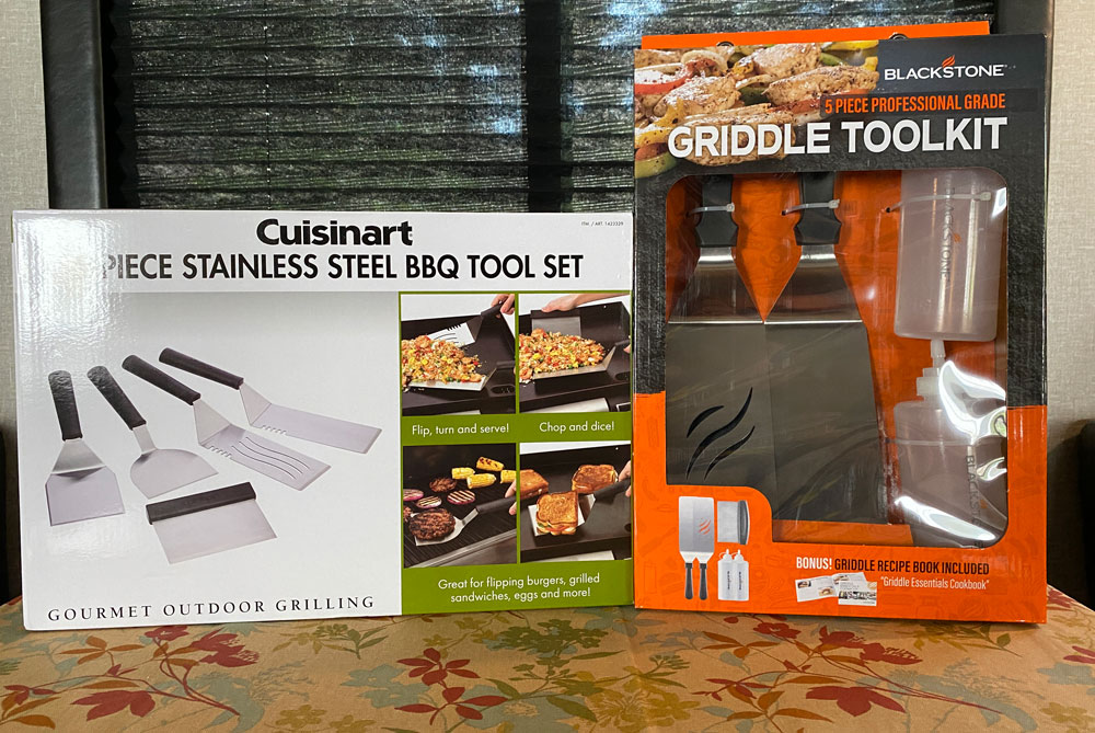 Blackstone Griddle Toolkit Cuisinart Stainless Steel BBQ Tool Set Which is the Best Griddle Spatula Set