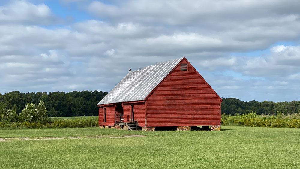 Belle Isle State Park Barn