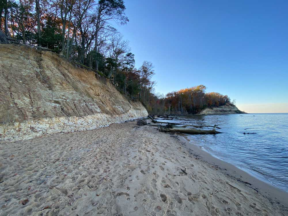 Westmoreland State Park Fossil Beach