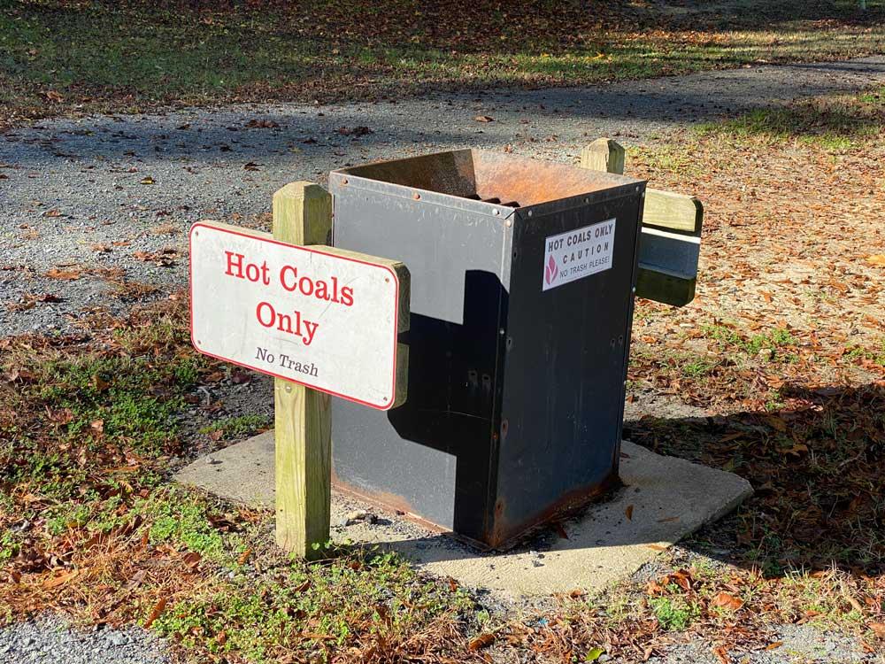 Hot Coal Dump at Westmoreland State Park Picnic Area