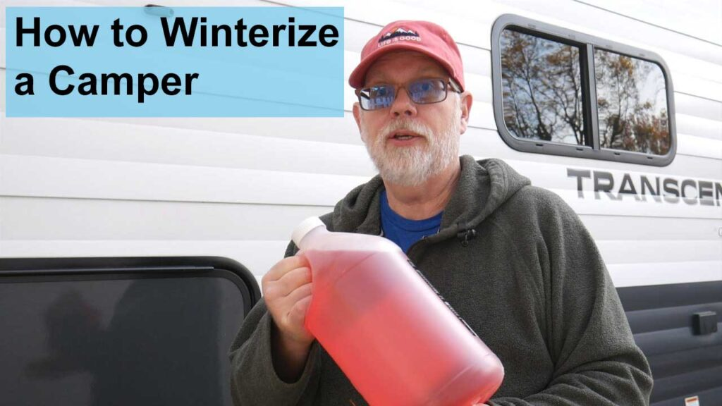 How to Winterize a Camper in 5 Easy Steps YouTube Video Thumbnail