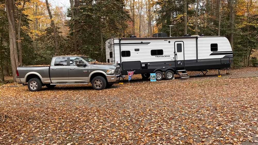 Campsite at Westmoreland State Park