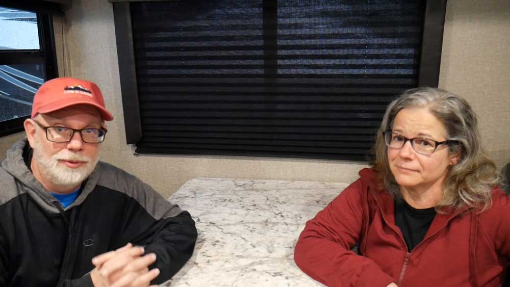 Judy and Erling Share Stories of RV Campground Etiquette and Campsite Manners