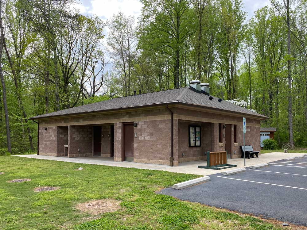 Powhatan State Park Campground Bath House