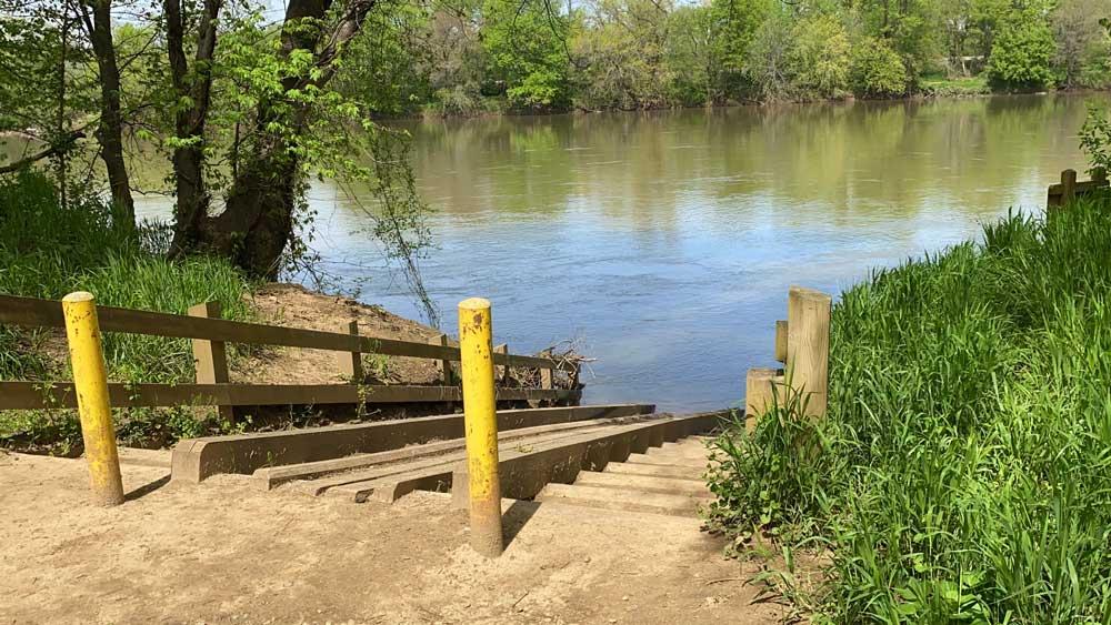 Powhatan State Park Kayak Launch