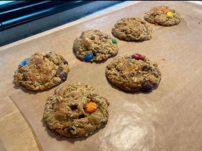 RV Baking Monster Cookies
