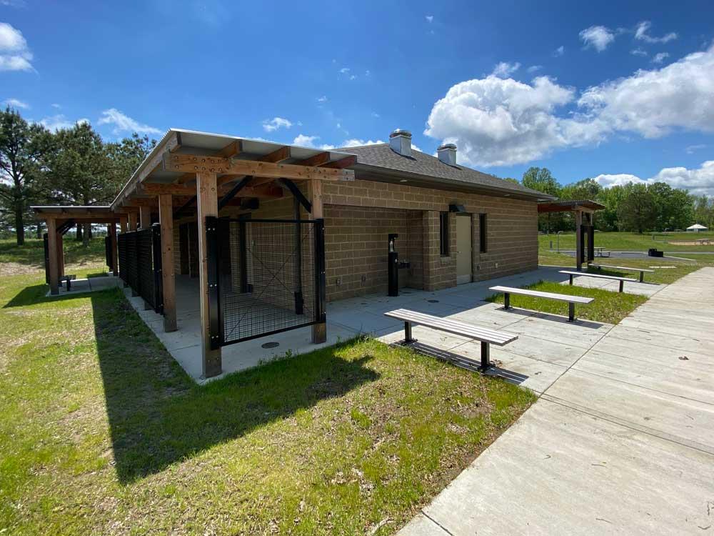 Machicomoco State Park Bath House