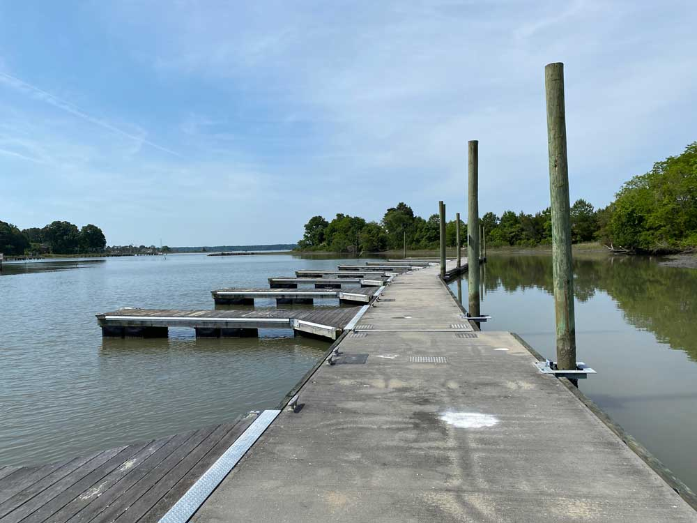 Machicomoco State Park Boat Docks