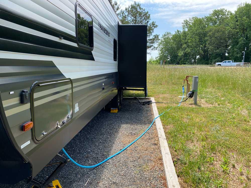 Machicomoco State Park Campsite Hookups