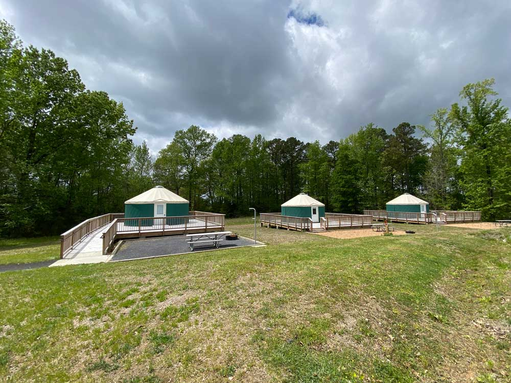 Machicomoco State Park Yurts