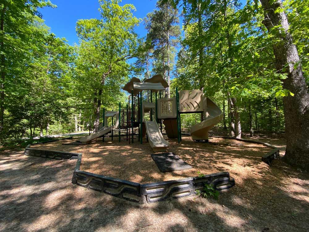 North Bend Campground Playground