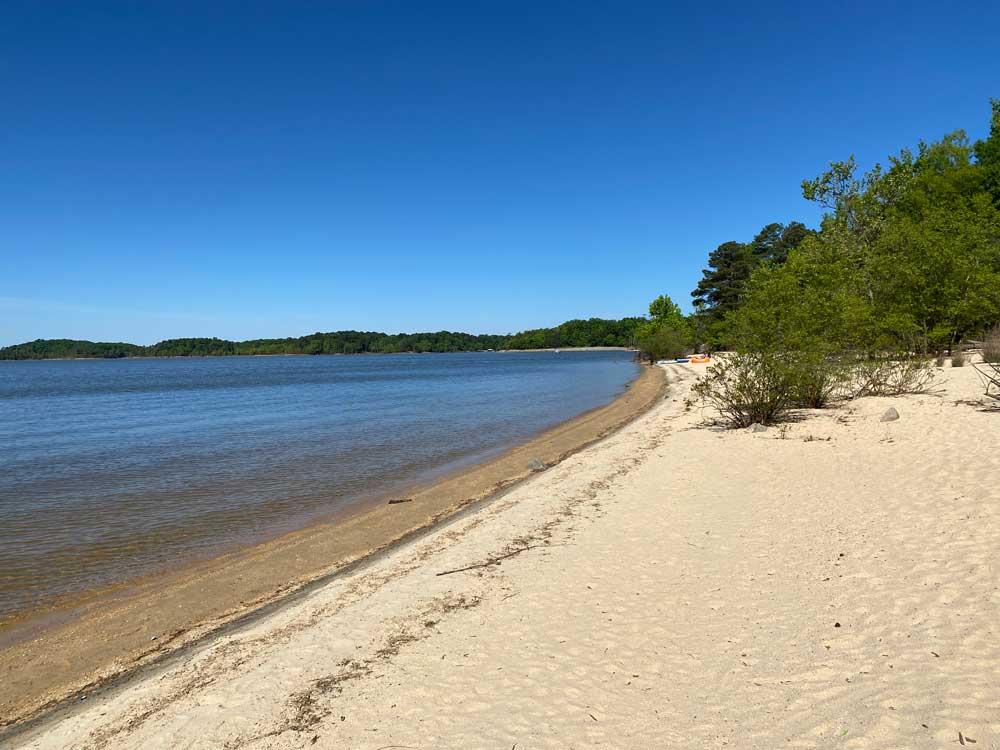 North Bend Campground Sandy Beach
