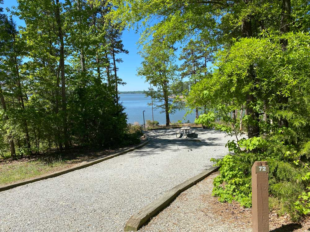 North Bend Campground Site 72