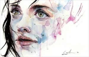 watercolor_agnes cecile
