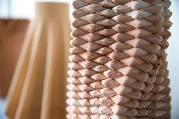 Olivier van Herpt cria vasos de cerâmica impressos em 3D