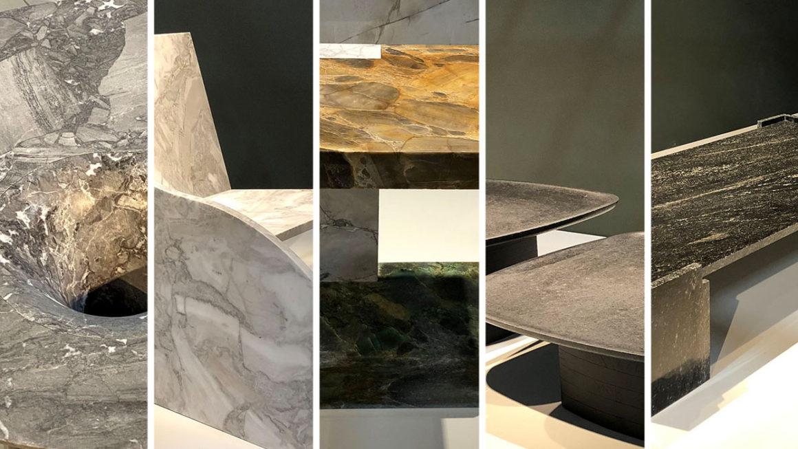 Brazilian Stones Original Design: designers criam com mármores e granitos
