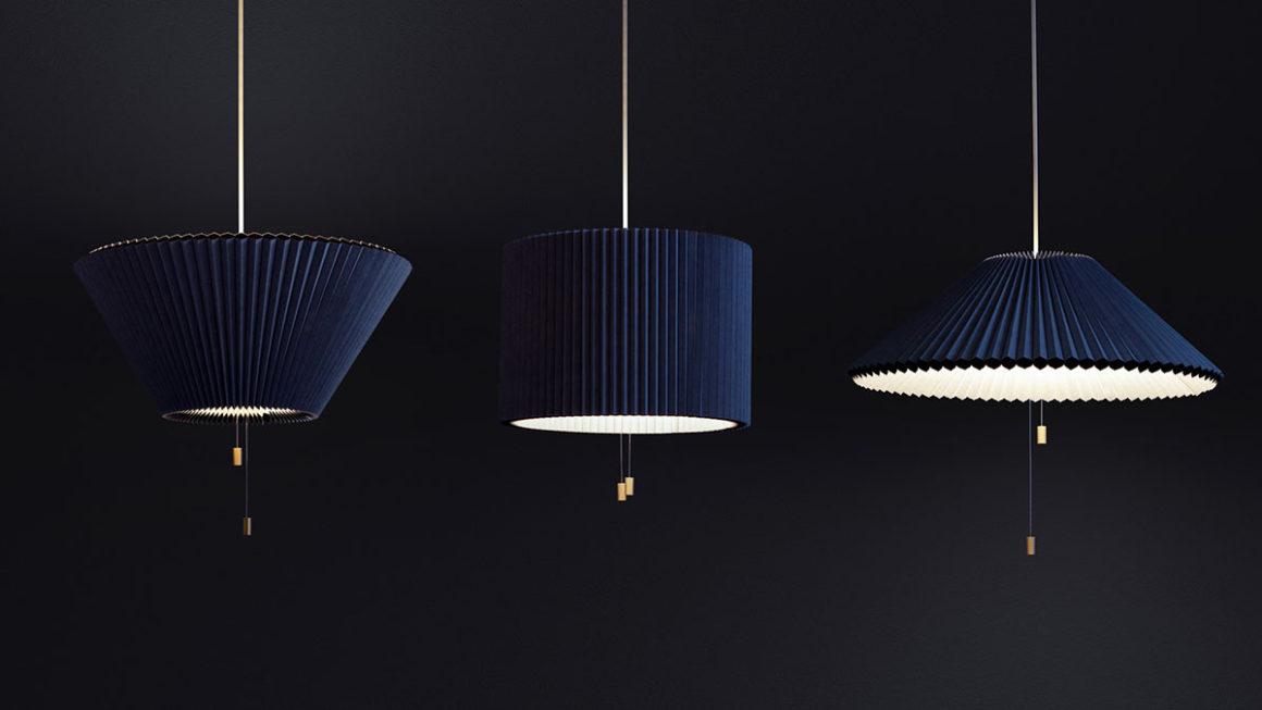 Designer alemão cria luminária mutante inspirada em persiana