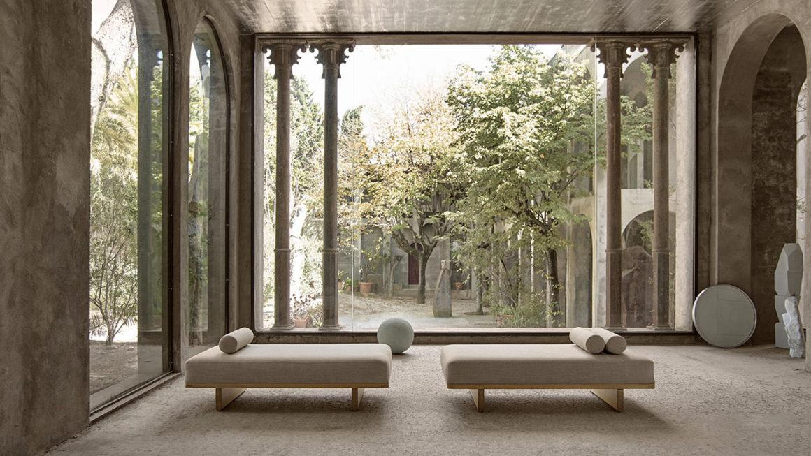 Design para durar: daybed e banco de Børge Mogensen