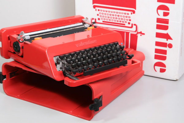 Ícones do design: a máquina de escrever Valentine (1969)