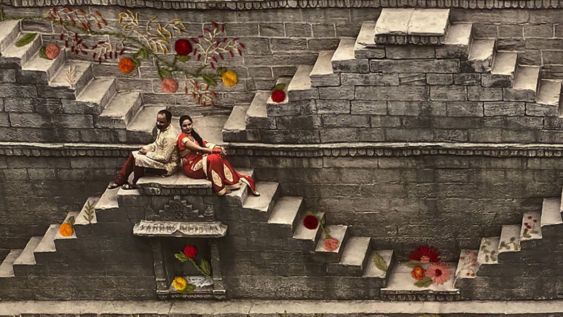 Obras de Mylene Rizzo mesclam fotografia,  bordado e afeto