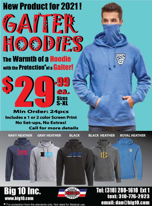 Hoodie with Gaiter