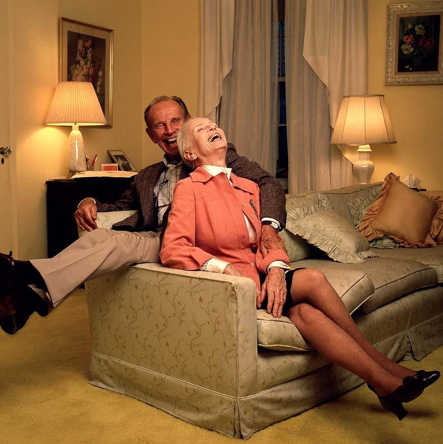 Jessica Tandy and Hume Cronyn