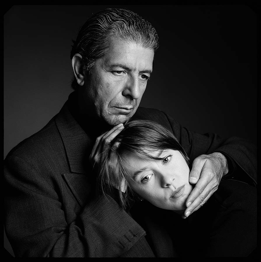 Leonard Cohen and Suzanne Vega