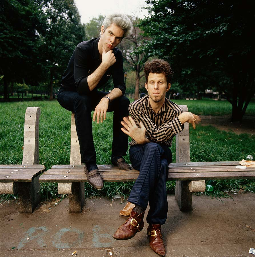 Tom Waites and Jim Jarmusch