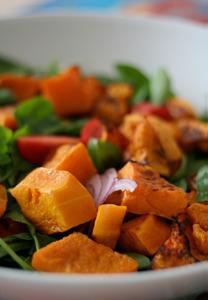 Satay Pumpkin Salad